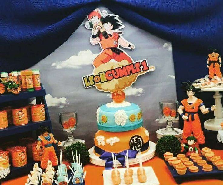 Best ideas about Dragon Ball Z Birthday Decorations . Save or Pin 54 best Dragon Ball Z Birthday images on Pinterest Now.