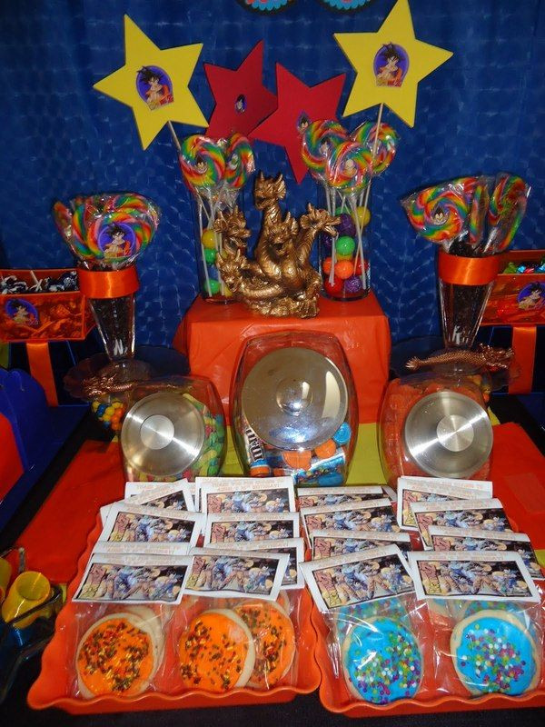 Best ideas about Dragon Ball Z Birthday Decorations . Save or Pin FIESTA DRAGON BALL Z AYUDA Univision Foros Now.