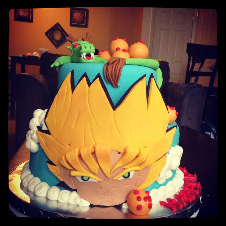 Best ideas about Dragon Ball Z Birthday Decorations . Save or Pin 24 best images about Dragonball Z Birthday Party Ideas Now.