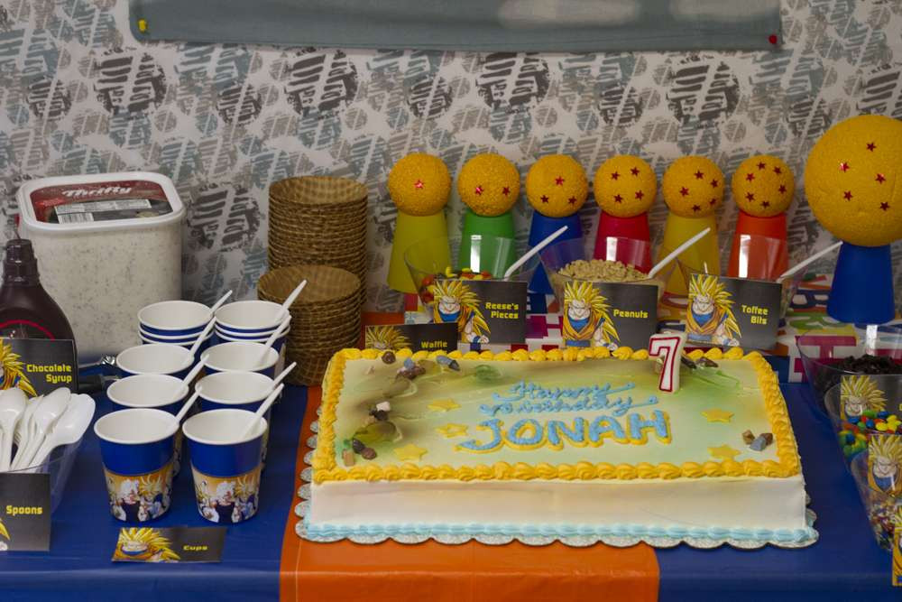 Best ideas about Dragon Ball Z Birthday Decorations . Save or Pin Birthday Party Ideas 9 of 19 Now.