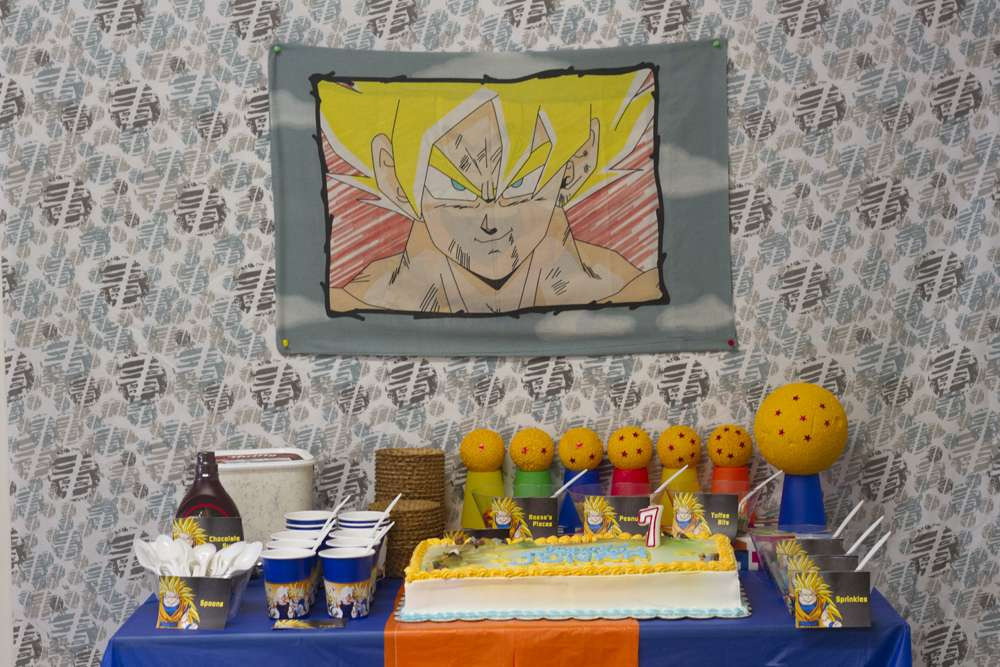 Best ideas about Dragon Ball Z Birthday Decorations . Save or Pin Birthday Party Ideas 2 of 19 Now.