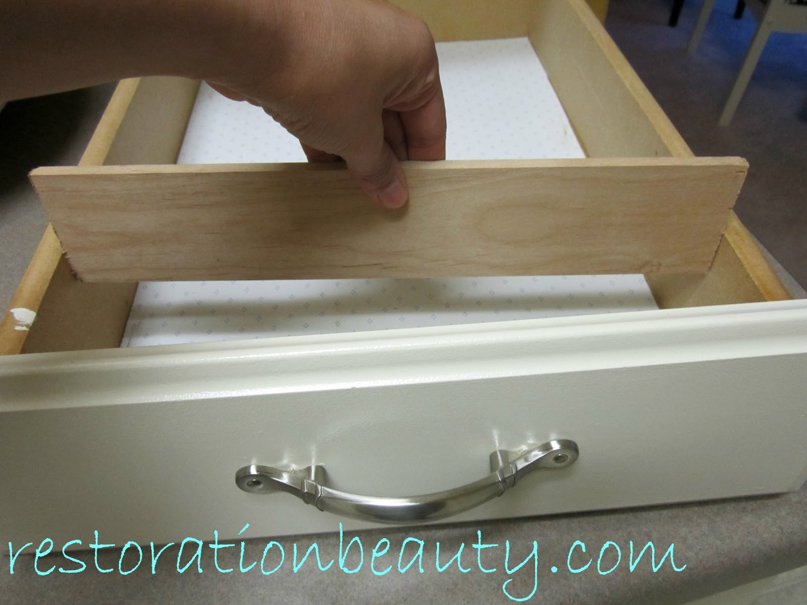Best ideas about Drawer Dividers DIY . Save or Pin Restoration Beauty DIY Wooden Drawer Organizing Dividers Now.