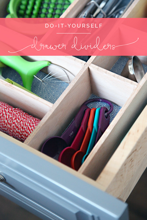 Best ideas about Drawer Dividers DIY . Save or Pin IHeart Organizing Four Days & Four Drawers Mini Now.