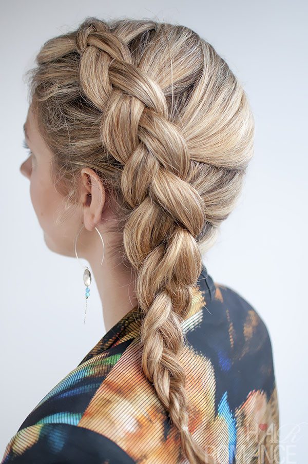 Best ideas about Dutch Braid Hairstyles . Save or Pin 30 Beautiful Braided Tutorials artzycreations Now.