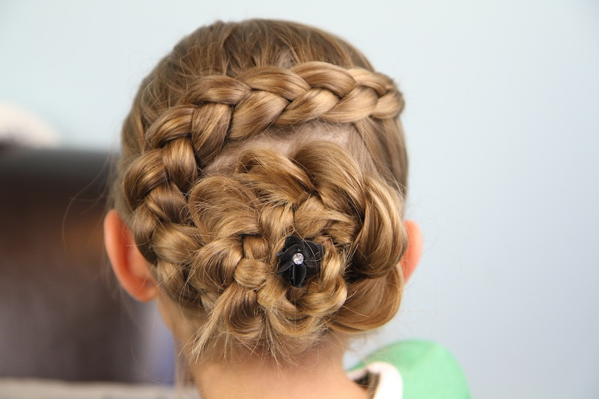 Best ideas about Dutch Braid Hairstyles . Save or Pin Dutch Flower Braid Updo Hairstyles Now.