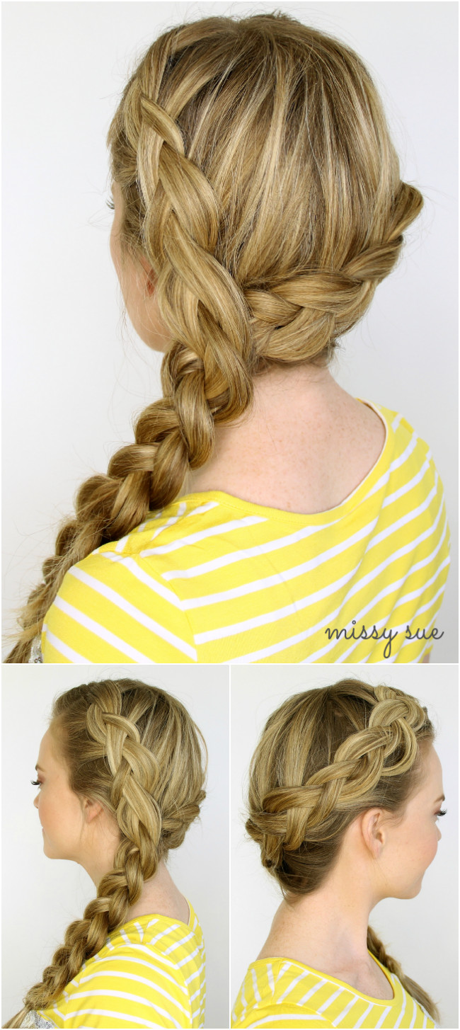 Best ideas about Dutch Braid Hairstyles . Save or Pin Two Dutch Braids 6 Hairstyles Now.