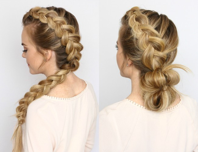 Best ideas about Dutch Braid Hairstyles . Save or Pin Dutch Mohawk Braid Hairstyles Now.