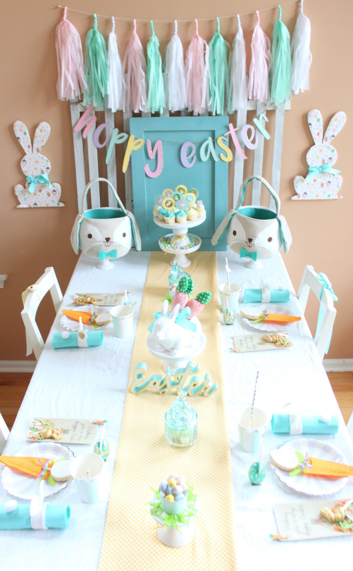 Best ideas about Easter Birthday Party . Save or Pin Kara s Party Ideas Hoppy Easter Party for Kids Now.