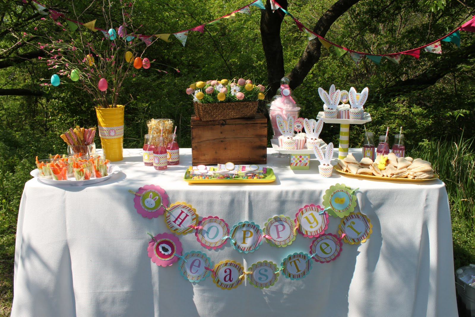 Best ideas about Easter Birthday Party . Save or Pin Easter Egg Hunt Party Now.