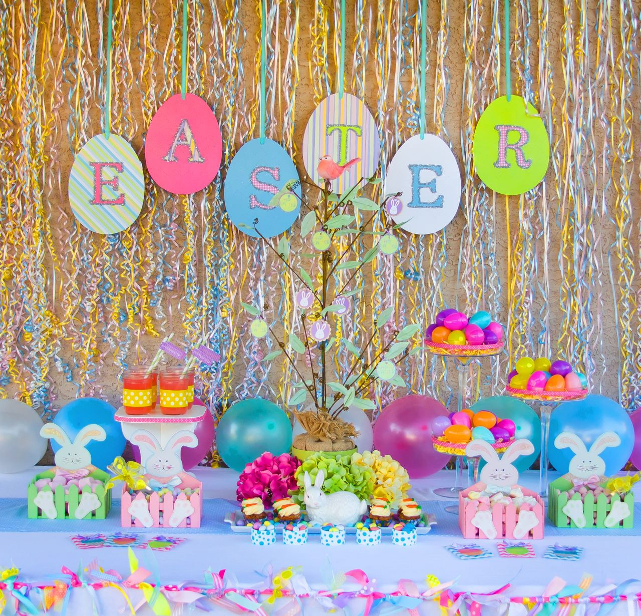 Best ideas about Easter Birthday Party . Save or Pin Easter Party Ideas Oh My Creative Now.
