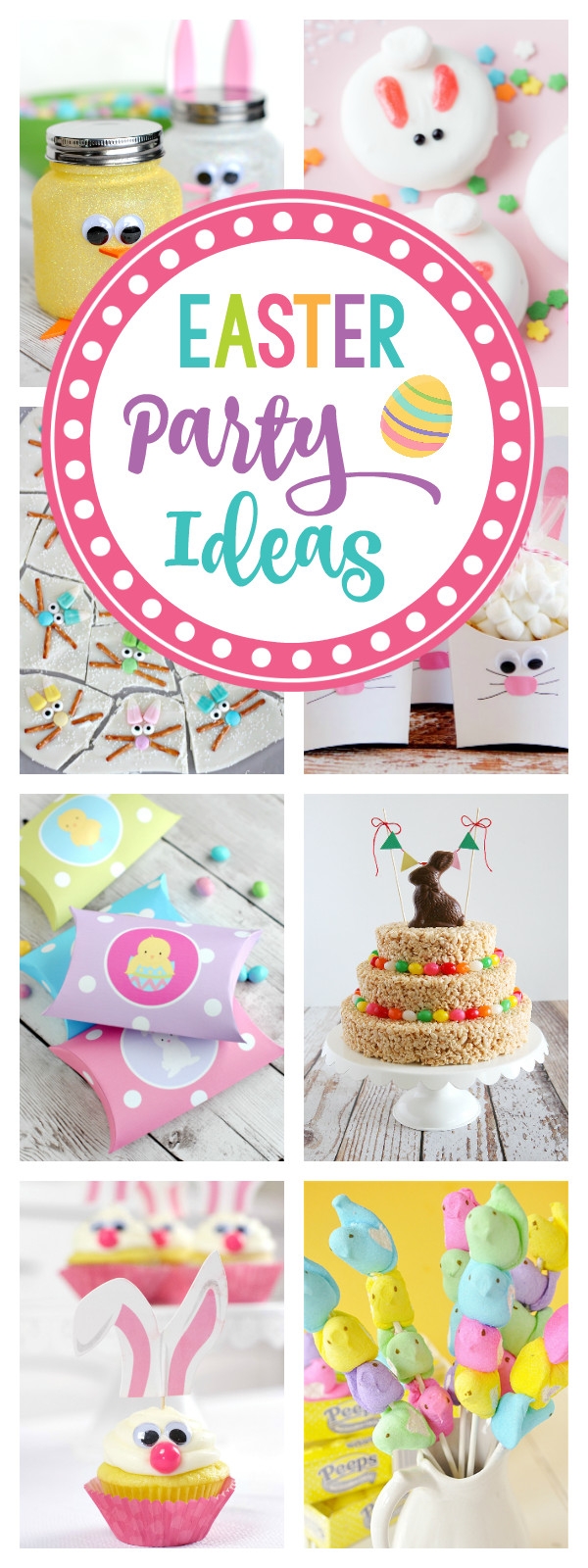 Best ideas about Easter Birthday Party . Save or Pin 25 Fun Easter Party Ideas for Kids – Fun Squared Now.