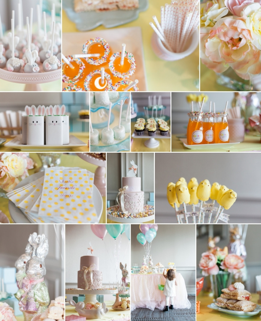Best ideas about Easter Birthday Party . Save or Pin Easter Birthday Party Lisa Crispo graphy Now.