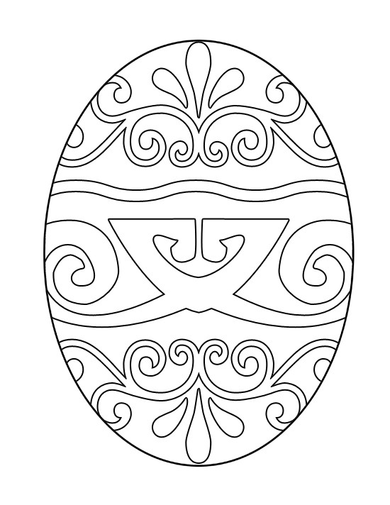Best ideas about Easter Egg Free Coloring Sheets . Save or Pin Free Printable Easter Egg Coloring Pages For Kids Now.