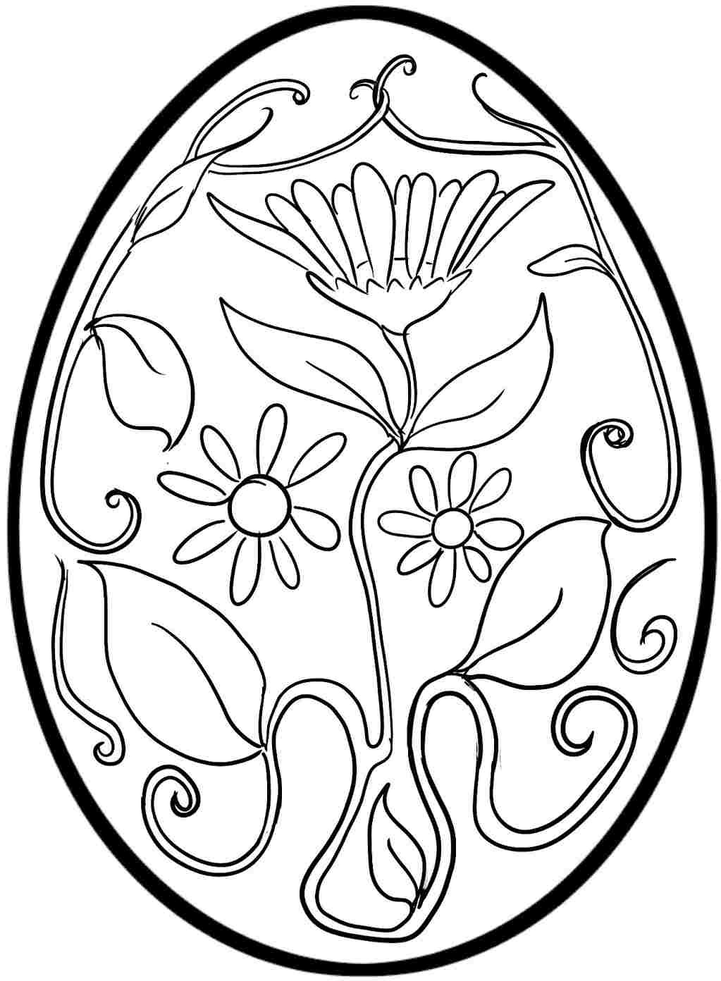 Best ideas about Easter Egg Free Coloring Sheets . Save or Pin free printable easter egg coloring pages Now.