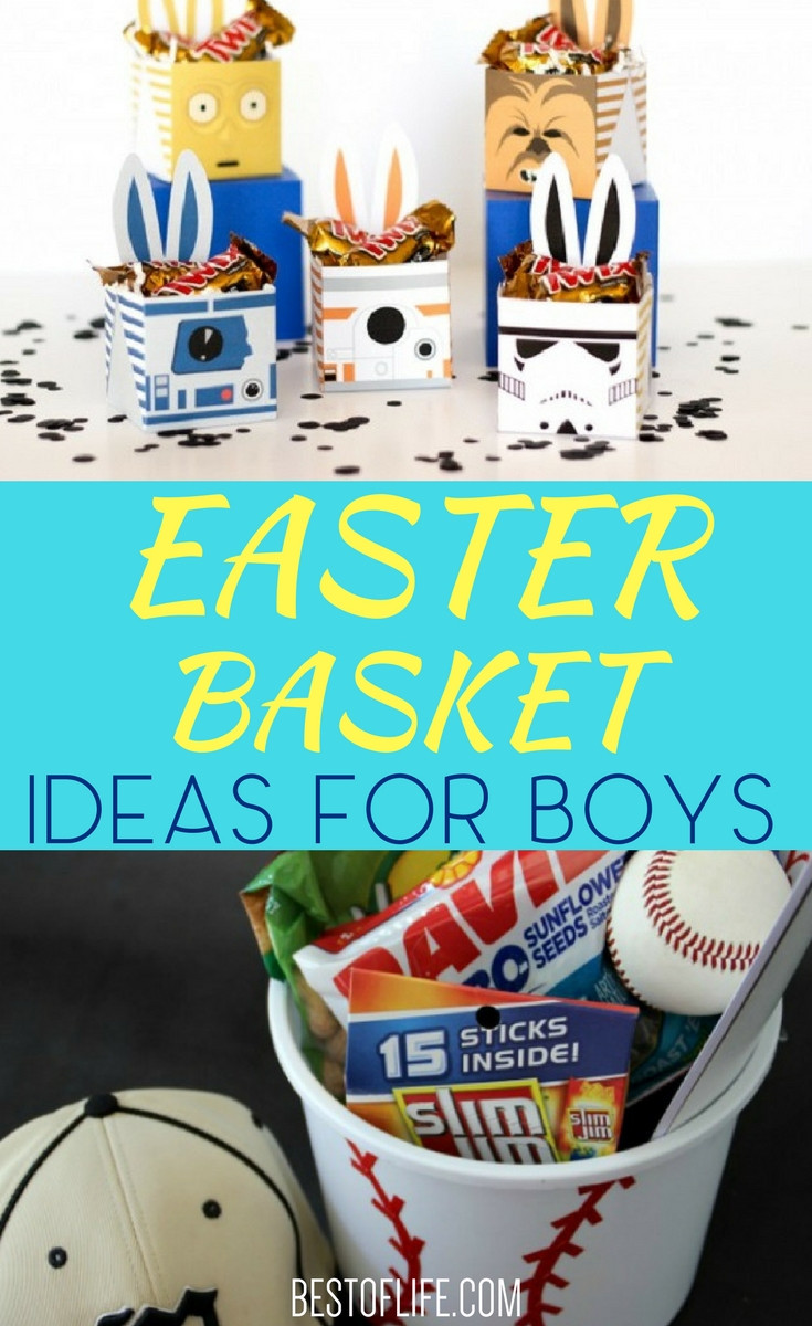 Best ideas about Easter Gift Ideas For Boys . Save or Pin Easter Basket Ideas for Boys Now.