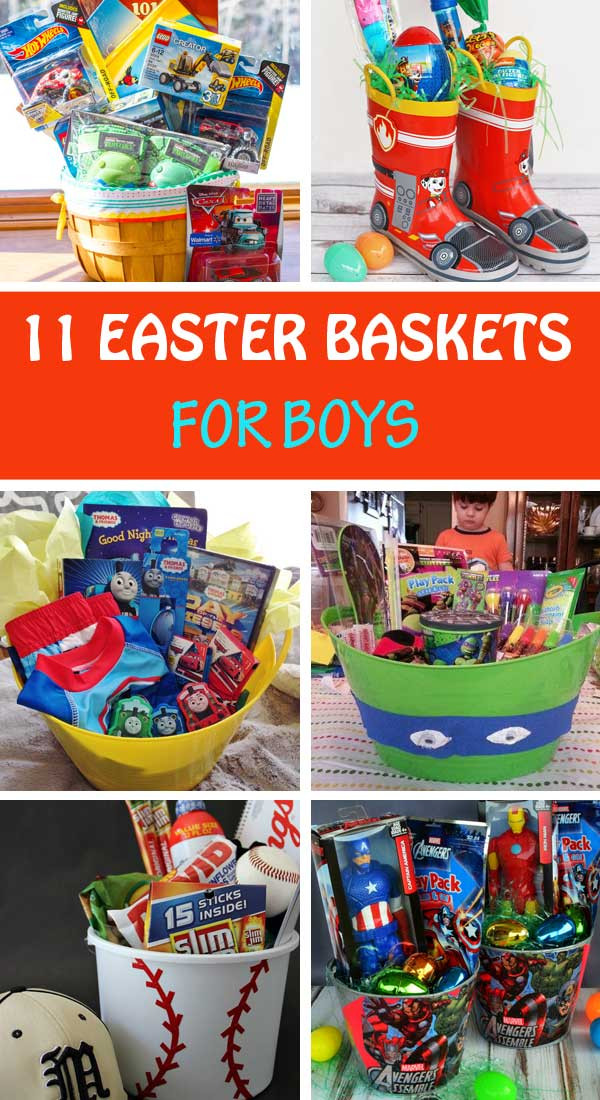 Best ideas about Easter Gift Ideas For Boys . Save or Pin 11 Homemade Easter basket ideas for boys Now.