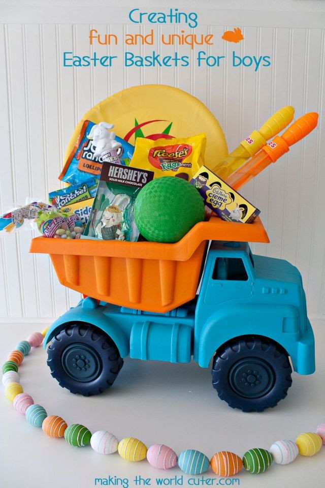Best ideas about Easter Gift Ideas For Boys . Save or Pin 45 Creative Easter Basket Ideas That Aren t Actually Now.