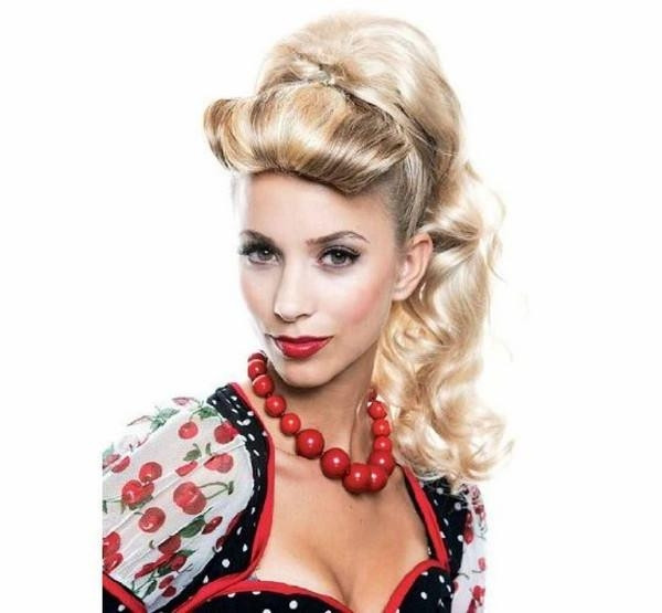 Best ideas about Easy 50S Hairstyles . Save or Pin 20 Ideas of 50S Long Hairstyles Now.