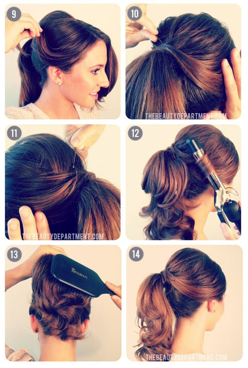 Best ideas about Easy 50S Hairstyles . Save or Pin Burlesque Updo Hairstyles for Long Hair Now.