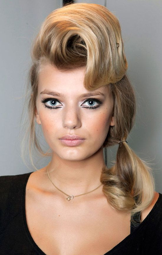 Best ideas about Easy 50S Hairstyles . Save or Pin easy 50s hairstyles for long hair 2014 50s hairstyles Now.