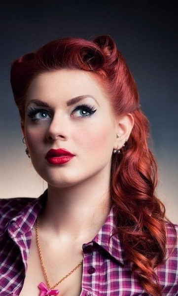 Best ideas about Easy 50S Hairstyles . Save or Pin 15 Pin up hairstyles easy to make yve style Now.