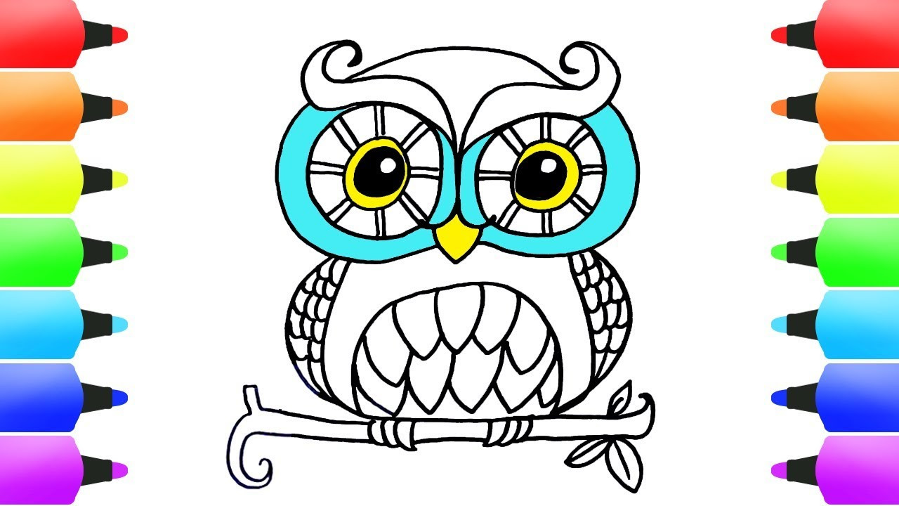 Best ideas about Easy Animal Coloring Pages For Kids . Save or Pin How to Draw Animals Easy Coloring Pages for Kids Cute Now.