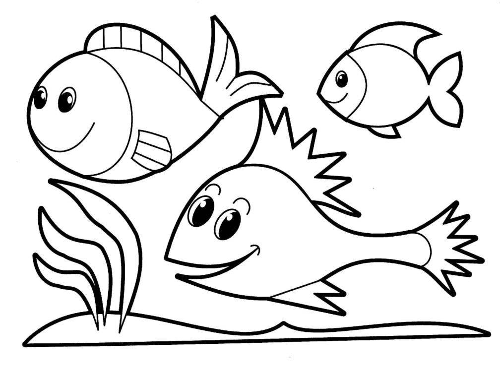 Best ideas about Easy Animal Coloring Pages For Kids . Save or Pin Easy Coloring Pages For Kids AZ Coloring Pages Now.