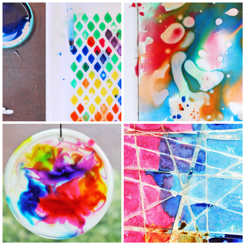 Best ideas about Easy Art Ideas . Save or Pin 12 Easy Art Ideas for Kids Babble Dabble Do Now.