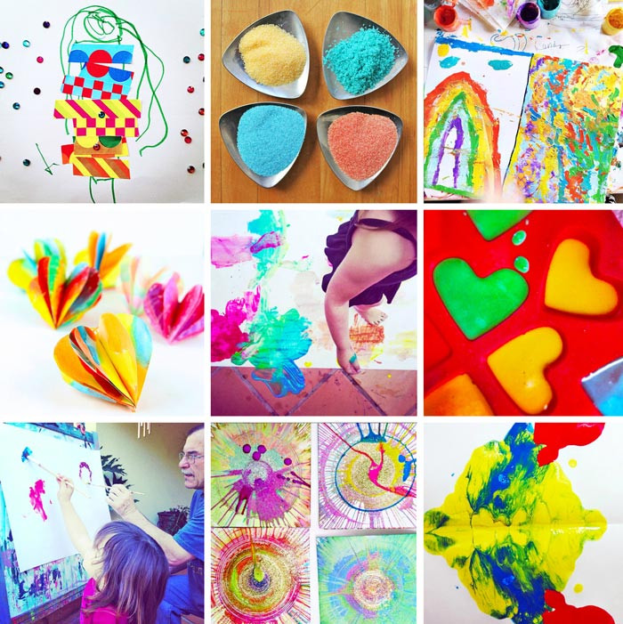 Best ideas about Easy Art Ideas . Save or Pin 80 Easy Creative Projects for Kids Babble Dabble Do Now.