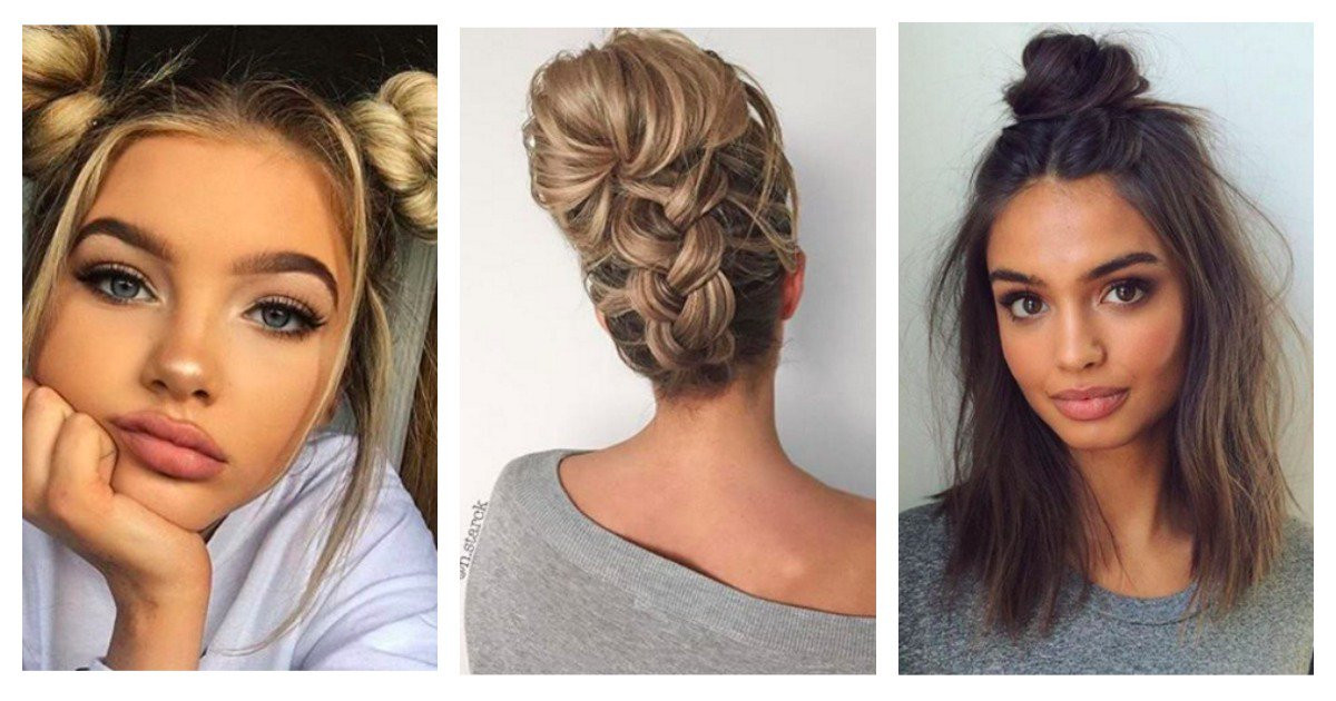 Best ideas about Easy Black Hairstyles For Medium Hair . Save or Pin 20 easy hairstyles for long short and medium length hair Now.