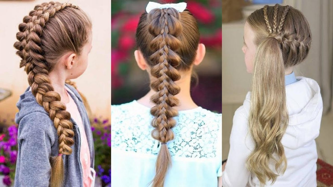 Best ideas about Easy Braided Hairstyles For Kids . Save or Pin 11 Easy Braid Hairstyles For Kids 😱 Cute Hairstyles For Now.