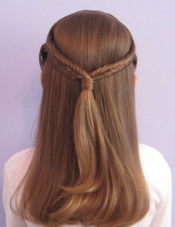 Best ideas about Easy Braided Hairstyles For Kids . Save or Pin 14 Lovely Braided Hairstyles for Kids Pretty Designs Now.
