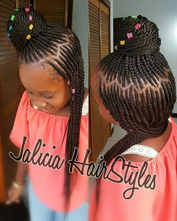 Best ideas about Easy Braided Hairstyles For Kids . Save or Pin 1263 best Little Black Girls Hair images on Pinterest Now.