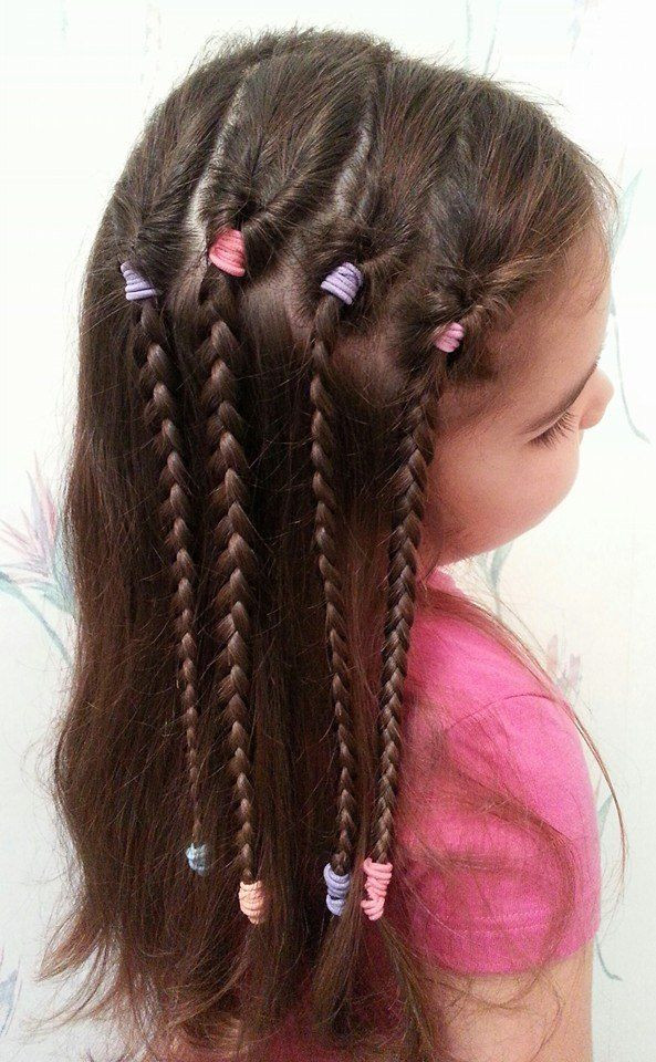 Best ideas about Easy Braided Hairstyles For Kids . Save or Pin 25 Best Ideas about Easy Kid Hairstyles on Pinterest Now.