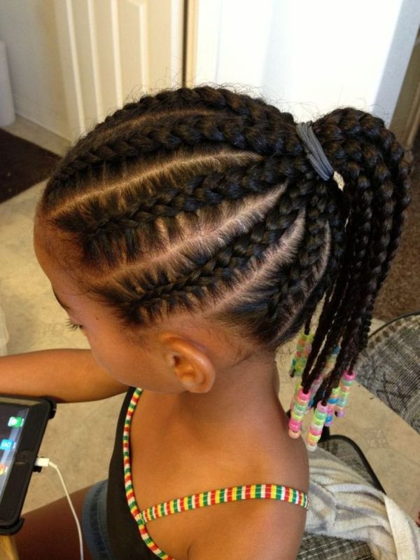 Best ideas about Easy Braided Hairstyles For Kids . Save or Pin Braids for Kids Black Girls Hairstyles Trending in July 2019 Now.