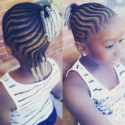 Best ideas about Easy Braided Hairstyles For Kids . Save or Pin Braids for Kids – 40 Splendid Braid Styles for Girls Now.