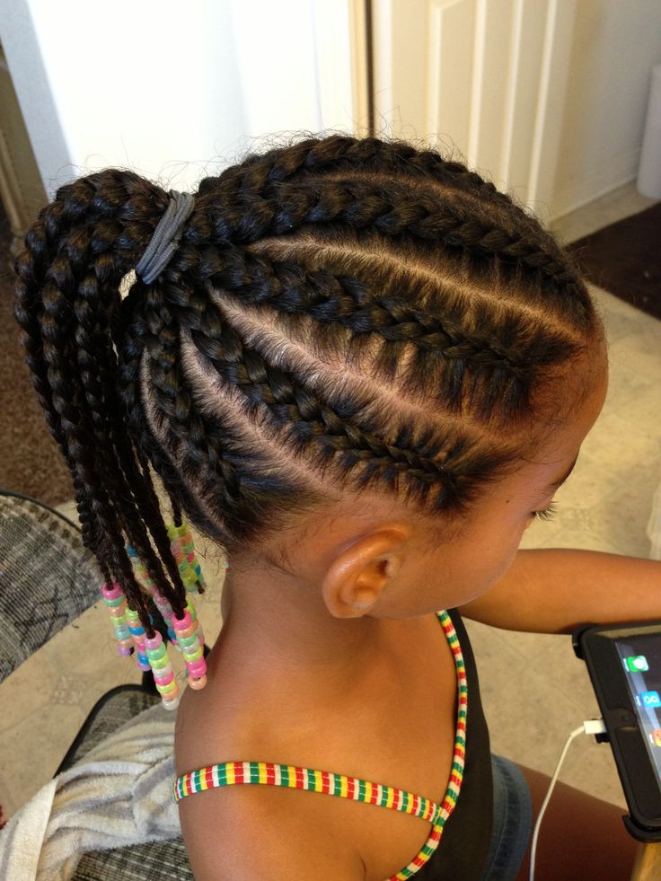 Best ideas about Easy Braided Hairstyles For Kids . Save or Pin Quick and simple Now.
