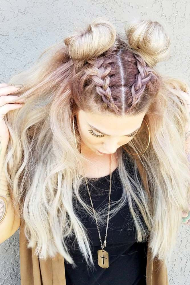 Best ideas about Easy But Cute Hairstyles . Save or Pin 45 Easy Hairstyles For Spring Break Now.