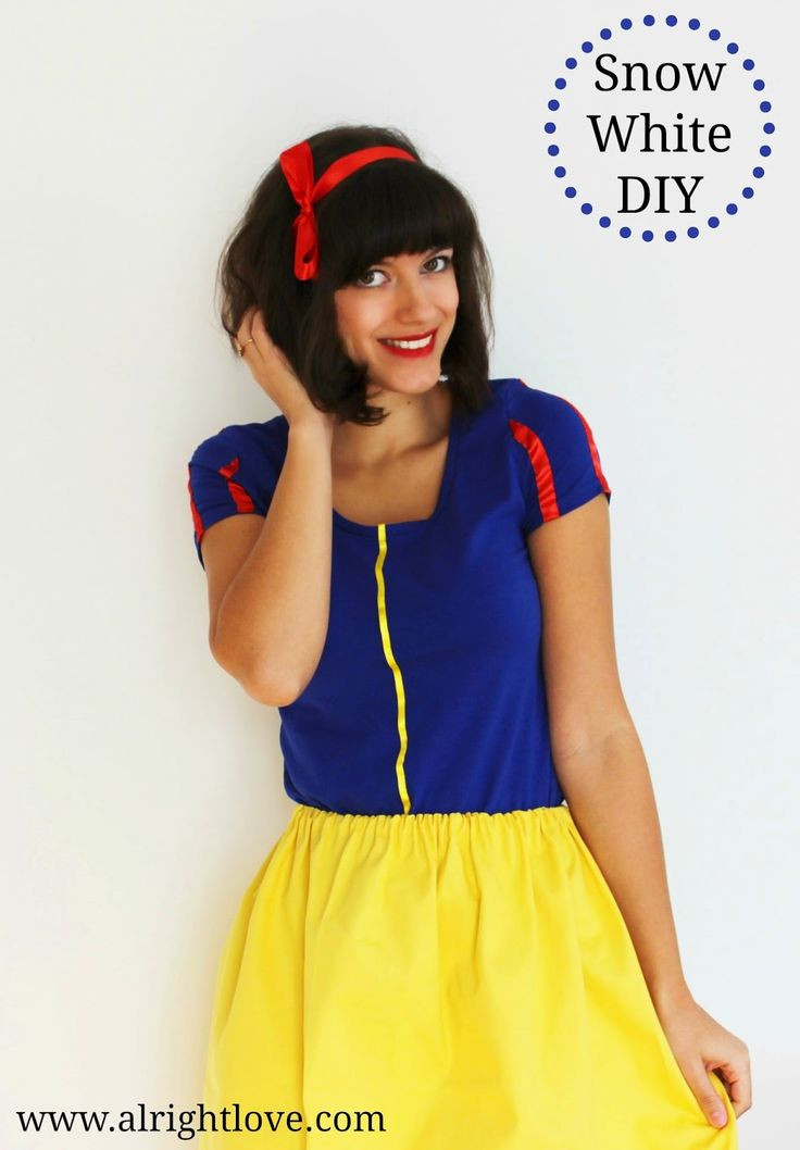 Best ideas about Easy DIY Adult Costumes . Save or Pin Alright love DIY Snow White costume Now.
