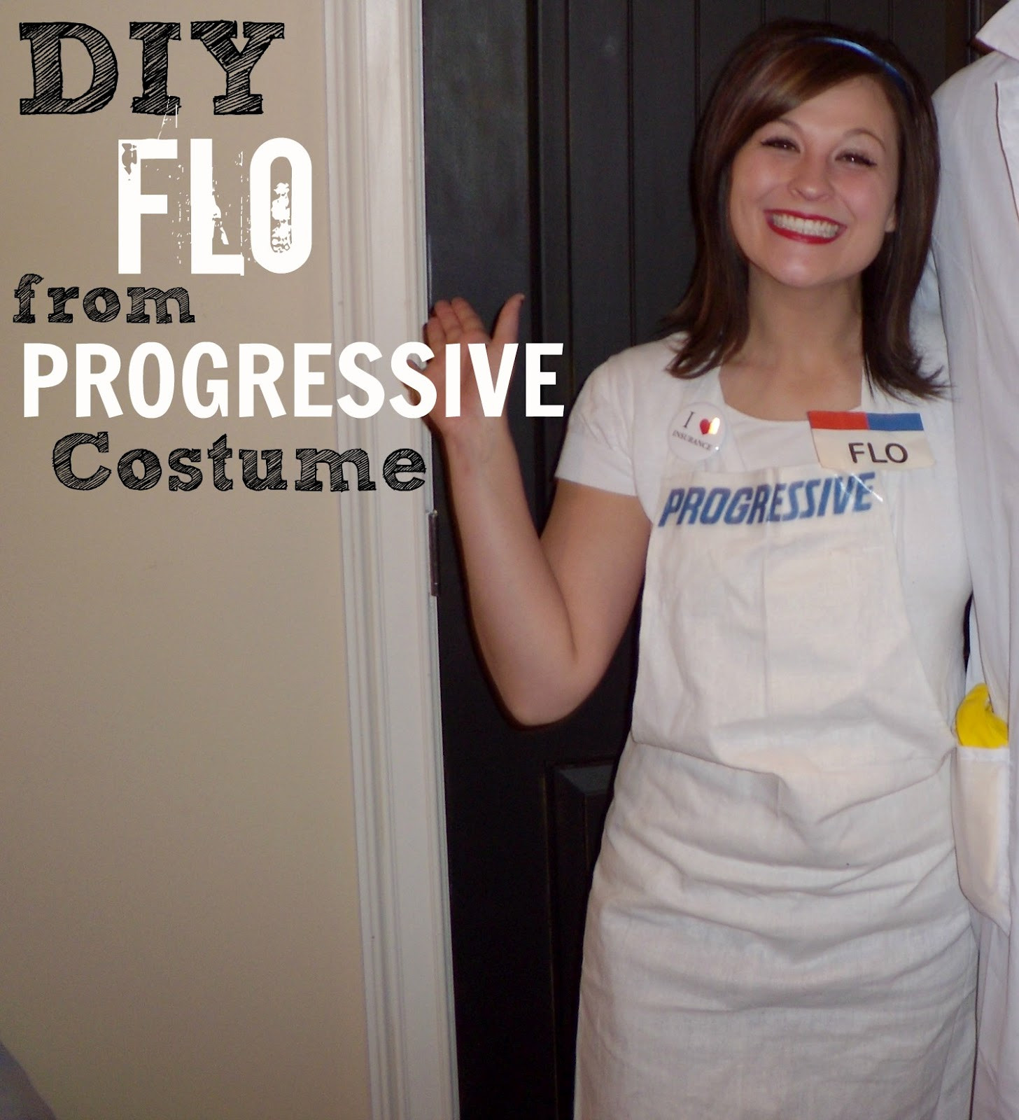 Best ideas about Easy DIY Adult Halloween Costumes . Save or Pin DIY Halloween Costume Progressive Insurance Flo Girl Now.