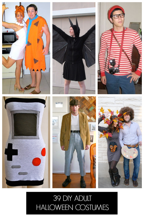 Best ideas about Easy DIY Adult Halloween Costumes . Save or Pin 44 Homemade Halloween Costumes for Adults C R A F T Now.