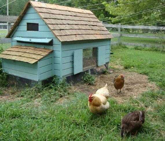 Best ideas about Easy DIY Chicken Coop Plans . Save or Pin Easy DIY 4 x6 Chicken Coop Hen House Plans PDF Now.