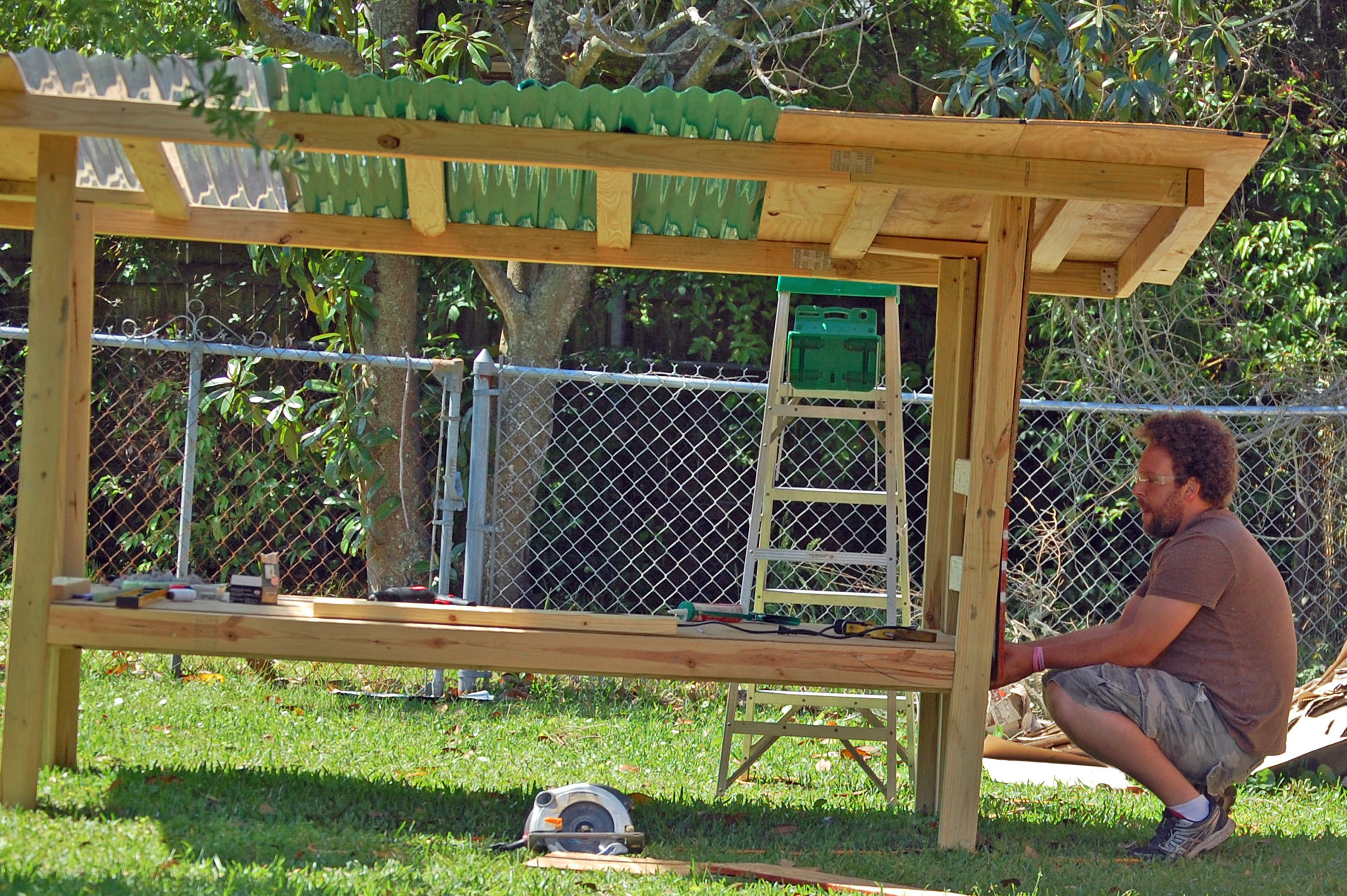 Best ideas about Easy DIY Chicken Coop Plans . Save or Pin Our DIY Chicken Coop From Recycled Materials Now.