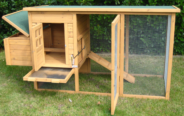 Best ideas about Easy DIY Chicken Coop Plans . Save or Pin Narrow chicken coop plans Hen ternak Now.