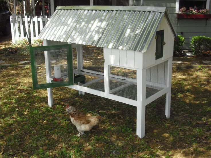 "Best ideas about Easy DIY Chicken Coop Plans . Save or Pin ""Cute Coop Deluxe"" Easy Build Chicken Coop DIY Plans with Now."