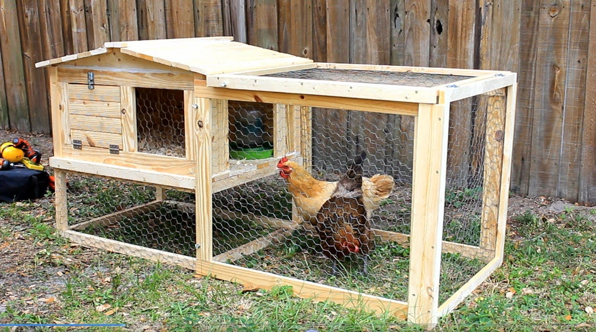 Best ideas about Easy DIY Chicken Coop Plans . Save or Pin Simply Easy DIY DIY Small Backyard Chicken Coop Now.