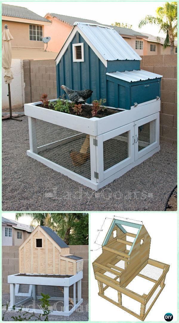 Best ideas about Easy DIY Chicken Coop Plans . Save or Pin DIY Wood Chicken Coop Free Plans & Instructions Now.