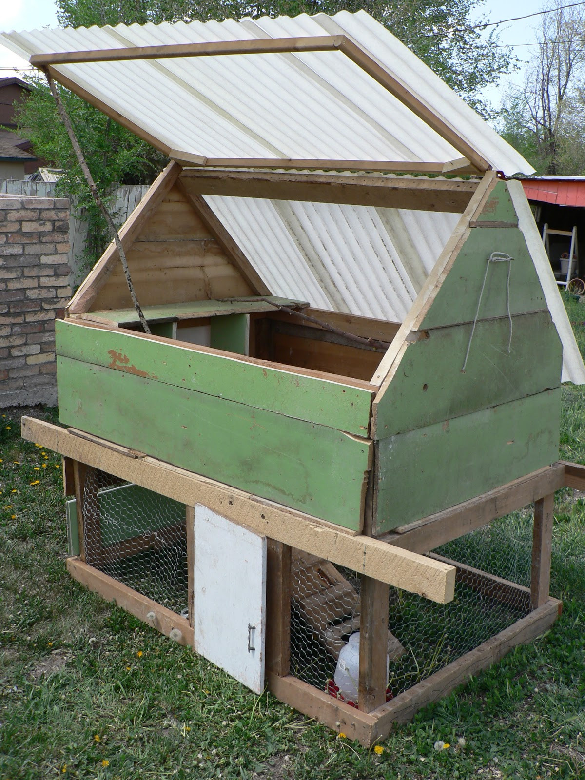 Best ideas about Easy DIY Chicken Coop Plans . Save or Pin DIY Chicken Coop Bless This Mess Now.