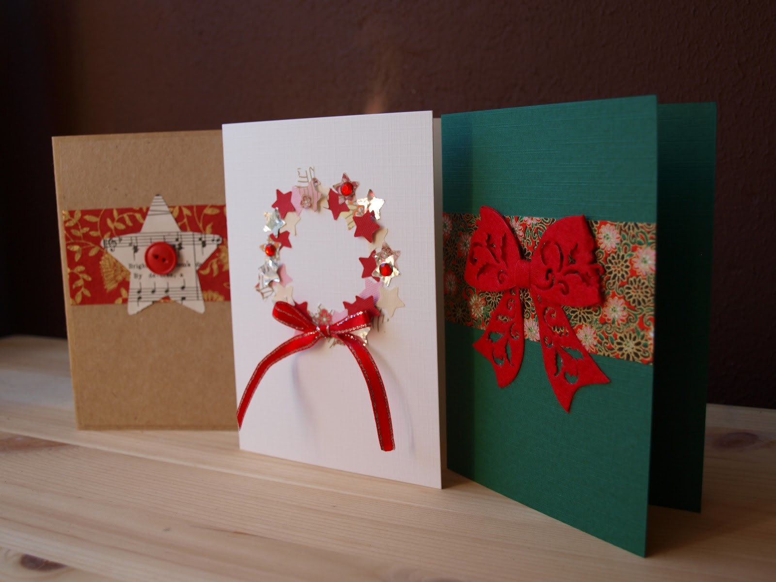 Best ideas about Easy DIY Christmas Cards . Save or Pin 25 EASY HANDMADE CHRISTMAS GREETINGS FUN TO MAKE WITH YOUR Now.