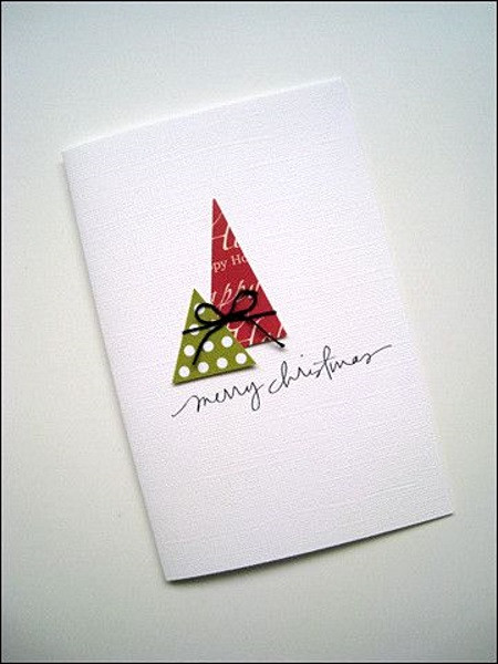 Best ideas about Easy DIY Christmas Cards . Save or Pin 50 Best DIY Christmas Cards Ideas Pink Lover Now.